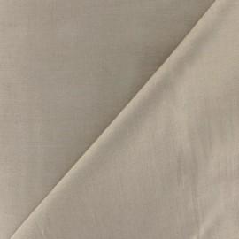 ♥ Only one piece 80 cm X 145 cm ♥  Cotton Voile Fabric - Dark Beige