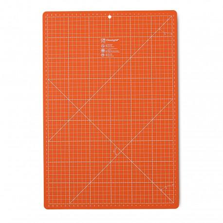 Tapis de découpe Prym Omnigrid 30 x 45cm - orange