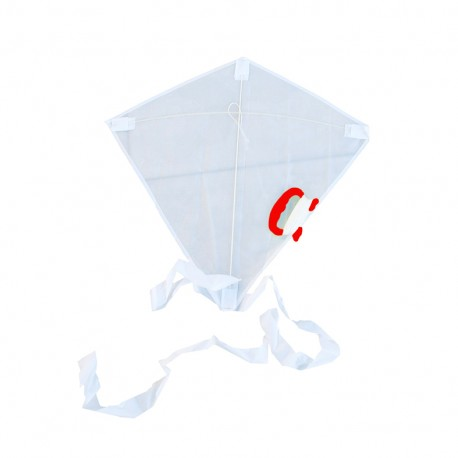 Cerf-volant à customiser - blanc