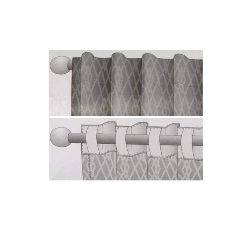 accessoire rideaux ruban passants cach s pour rideaux mpm. Black Bedroom Furniture Sets. Home Design Ideas