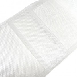 Hidden loop tape for curtains - white x 1m