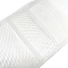 Ruban à passants cachés pour rideaux - blanc x 1m
