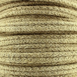 Double furnishing cord - linen x 1m