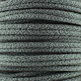 Double furnishing cord - anthracite x 1m