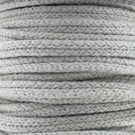 Double furnishing cord - light grey x 1m