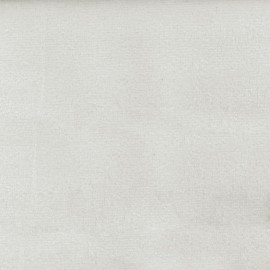 Tissu velours Brunei - blanc x 10cm