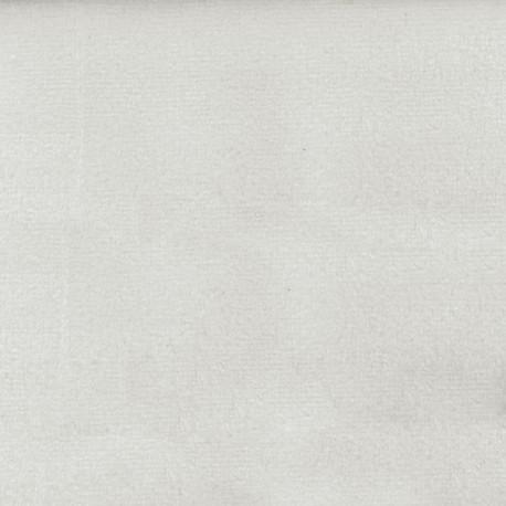 Brunei velvet fabric - white x 10cm