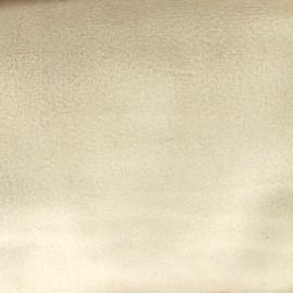 Tissu velours Brunei - beige clair x 10cm