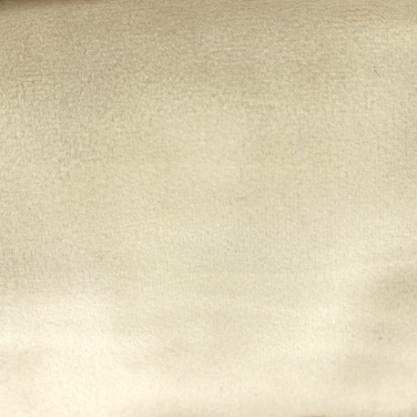 Brunei velvet fabric - light beige x 10cm