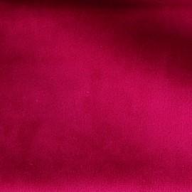Tissu velours Brunei - fuchsia x 10cm