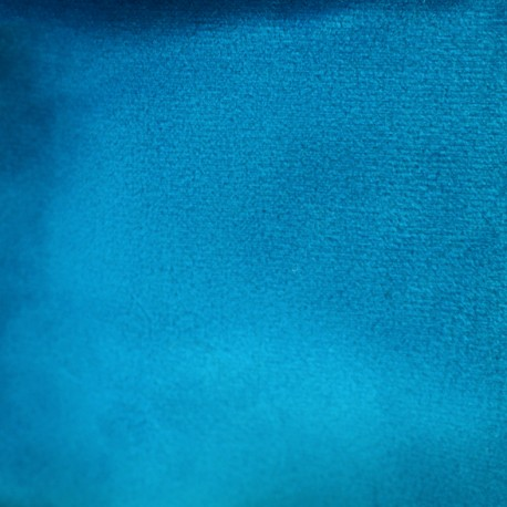 Brunei velvet fabric - celeste blue x 10cm