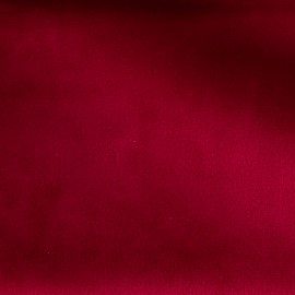 Brunei velvet fabric - carmine red x 10cm
