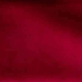 Brunei velvet fabric - carmine red x 10cm