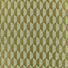 Woven jacquard canvas Otto - yellow x 10cm