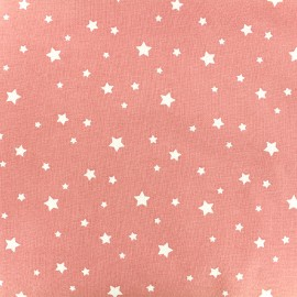Tissu coton Oeko-tex Scarlet - corail x 10cm