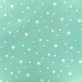 Tissu coton cretonne Scarlet - menthe x 10cm