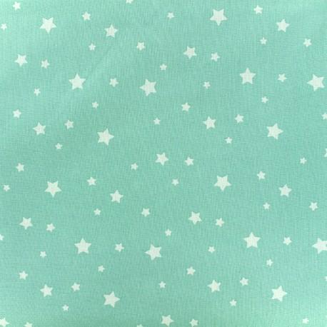 Cotton fabric Oeko-tex Zétoile - mint x 10cm