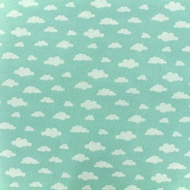 Cotton fabric Oeko-tex Ligmi - mint/trendy x 10cm