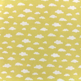Cotton fabric Oeko-tex Ligmi - yellow/trendy x 10cm