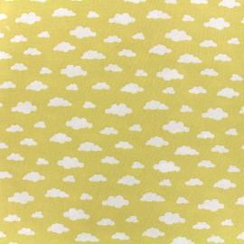 Cotton fabric Oeko-tex Ligmi - yellow/trendy x 10cm