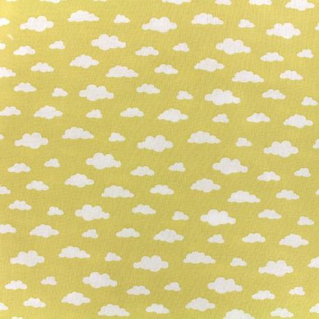 Tissu coton Oeko-tex Ligmi - jaune/trendy x 10cm