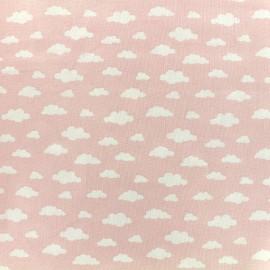 Tissu coton Oeko-tex Ligmi - rose/maotey x 10cm