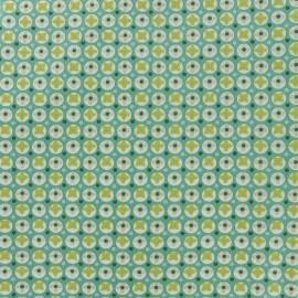 Tissu coton Oeko-tex Avrey - Aloe vera x 10cm