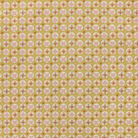 Cotton fabric Oeko-tex Avrey - powder pink x 10cm