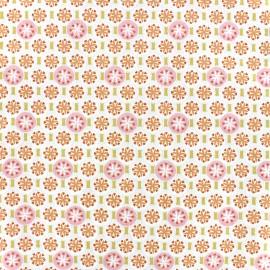 Tissu coton Oeko-tex Rixos - rose poudré x 10cm