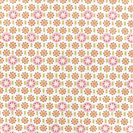 tissu coton oeko tex rixos rose poudr x 10cm ma petite mercerie. Black Bedroom Furniture Sets. Home Design Ideas