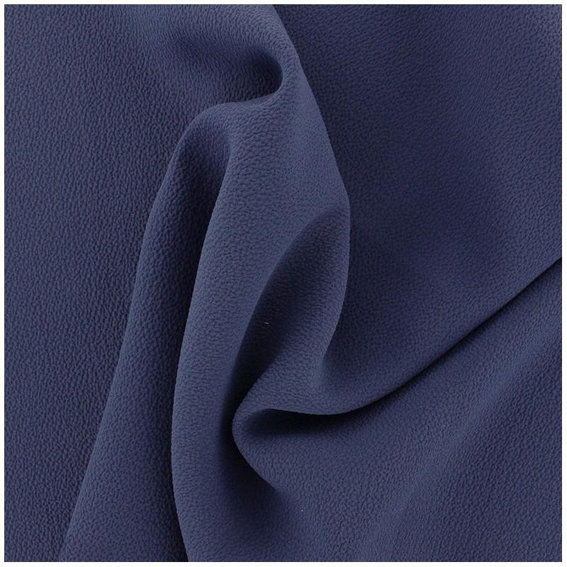 Tissu cr pe gaufr linda bleu indigo x 10cm ma petite mercerie - Gaufre bleu maladie femme photo ...