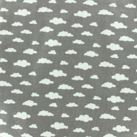 Poppy jersey fabric Ligmi - grey/trendy x 10cm