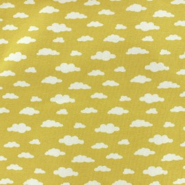 Poppy jersey fabric Ligmi - yellow/trendy x 10cm