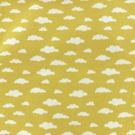 Tissu jersey Ligmi - jaune/trendy x 10cm