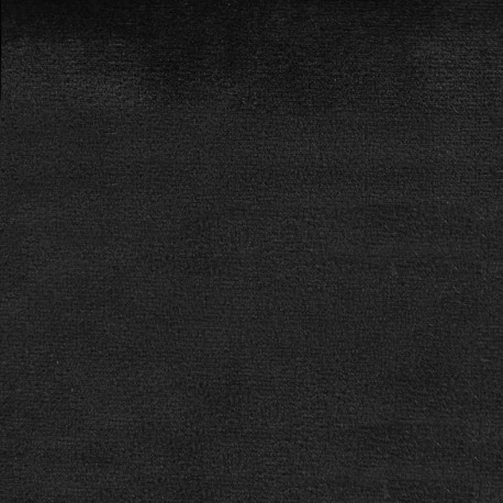 Brunei velvet fabric - black x 10cm