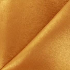 Simili cuir Karia métallisé - or x 10cm