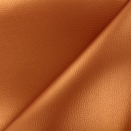 Imitation leather Karia - copper x 10cm