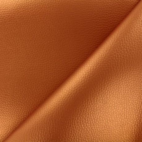 Imitation leather Karia - copper x 10cm