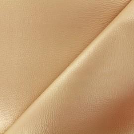 Simili cuir Karia - beige irisé x 10cm