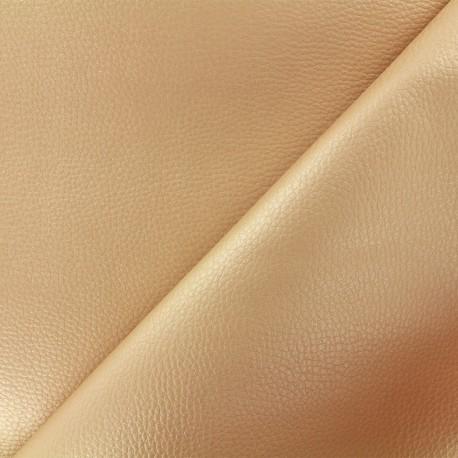 Simili cuir Karia - beige x 10cm