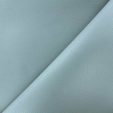 Simili cuir Karia - bleu fumée x 10cm