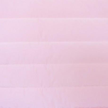 Tissu doublure matelassé nylon uni - rose x 10cm