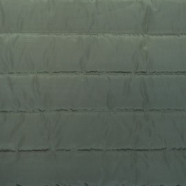 Plain nylon quilted lining fabric - army x 10cm