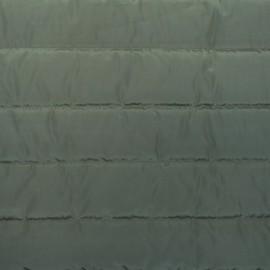 Tissu doublure matelassé nylon uni - army x 10cm