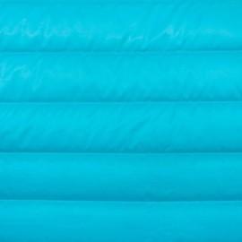 Tissu doublure matelassé nylon uni - bleu givré x 10cm