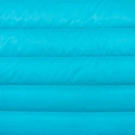 Tissu matelassé nylon doudoune uni - bleu givré x 10cm