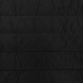Tissu doublure matelassé nylon uni - noir x 10cm