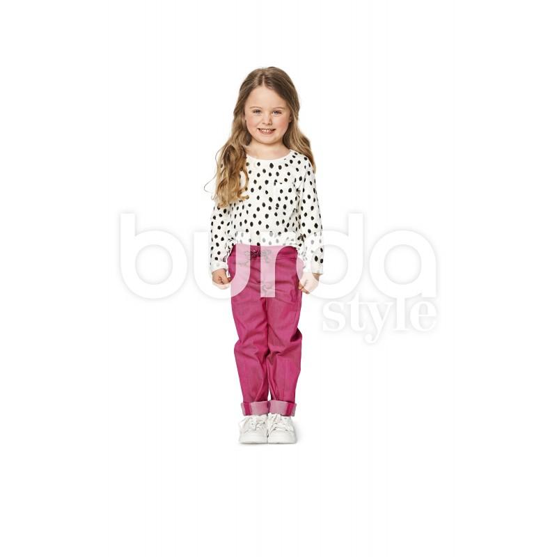 Trousers Pants Burda Sewing Pattern N 9352