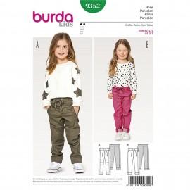 Patron Pantalon Burda Kids N°9352