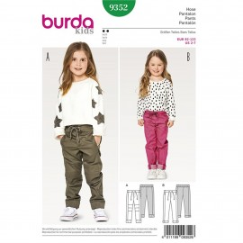 Trousers/Pants Burda Sewing Pattern N°9352